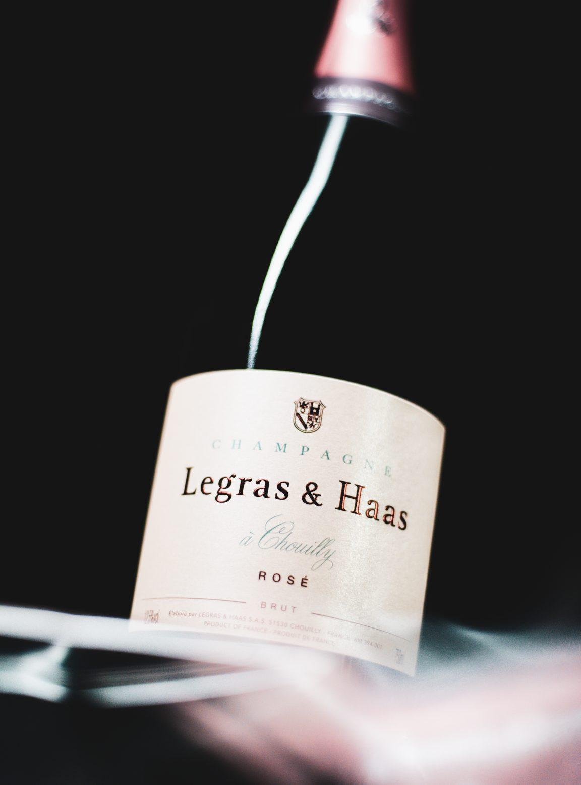 Brut Rosé - Champagne Legras & Haas