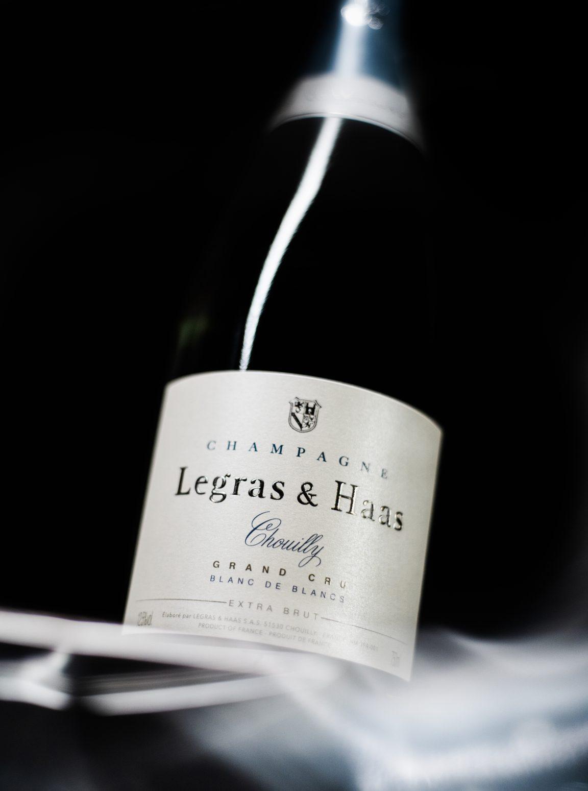 Blanc de Blancs Grand Cru Extra Brut - Champagne Legras & Haas