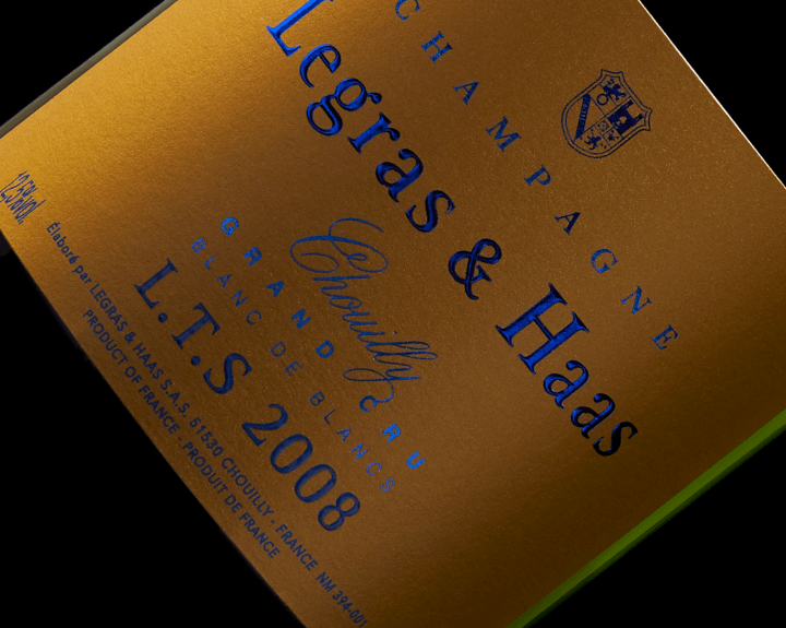 Limited edition - Champagne Legras & Haas